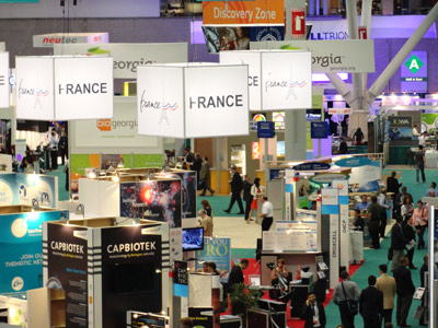 Attendance was up at this year's BIO held at the Boston Convention Center. State and national pavilions dominated the exhibition floor.