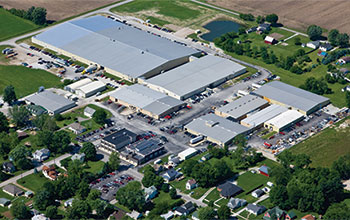 Draper's headquarters and manufacturing complex in Spiceland, Ind., employs just over 500 people in a town with a population of just over 800.