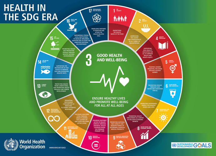 WHO SDG Infographic