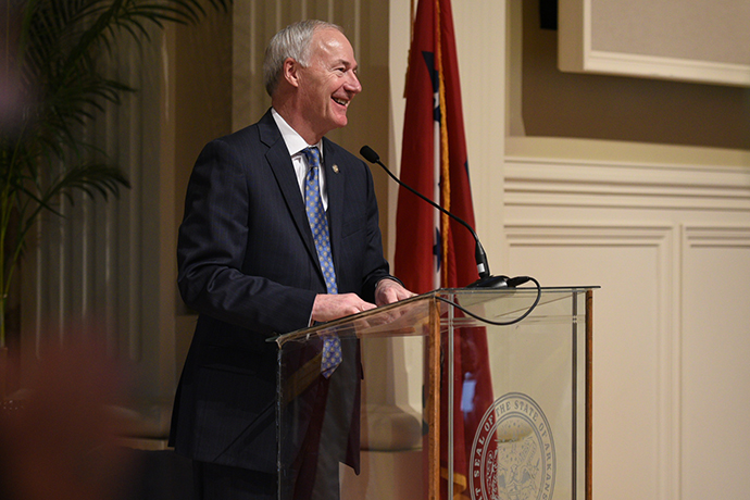 INTERVIEW WITH GOVERNOR ASA HUTCHINSON