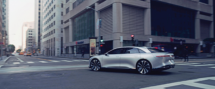 LUCID MOTORS FEATURE