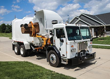 New Way, a division of Scranton Manufacturing, produces an innovative <br />line of refuse trucks.