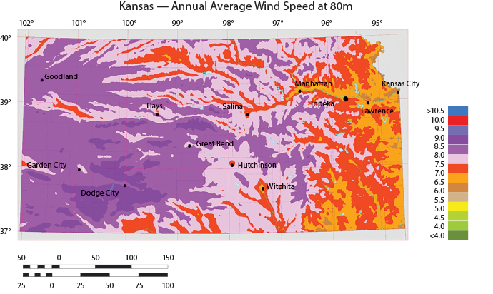 Wind Farms In Oklahoma Map.Energy Wind Power Site Selection Magazine