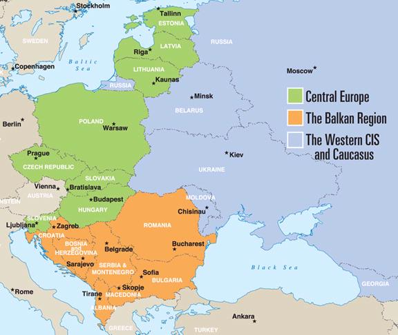 Eastern Europe: Taking Stock: As Western European economies falter ...
