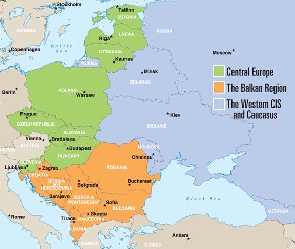 Eastern Europe Taking Stock As Western European Economies Falter Is Eastern Europe A Safer Bet