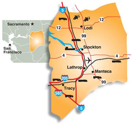 Charts Maps San Joaquin County