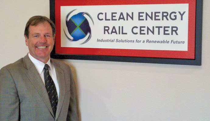 Robert Skinner is founder of RMS Development, which is a managing member of the Clean Energy Rail Center.