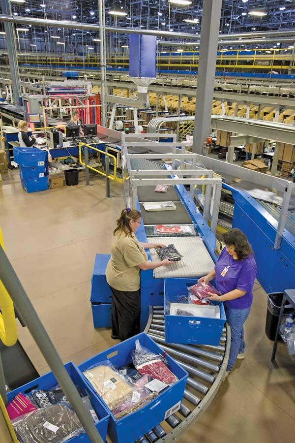 Logistics & Distribution: Points of Advantage: Department ...