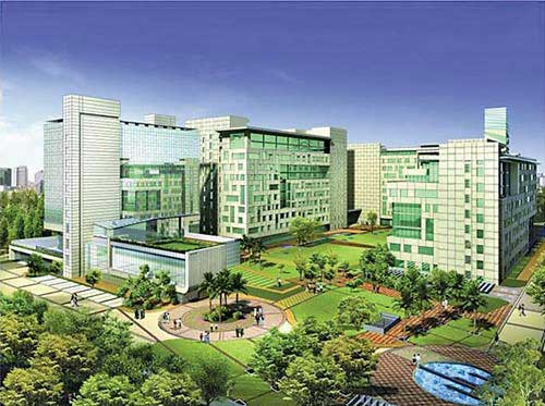 A proposed IT park being developed by Shapoorji & Pallonji.