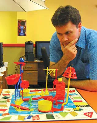 Schell Games founder Jesse Schell is a faculty member at Carnegie Mellon's Entertainment Technology Center.