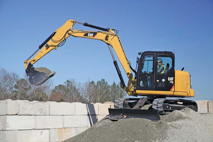 The 308E mini hydraulic excavator will be the first machine built in the new Cat facility in Athens, Ga., which will also produce the D3K small track-type tractor beginning in 2015.