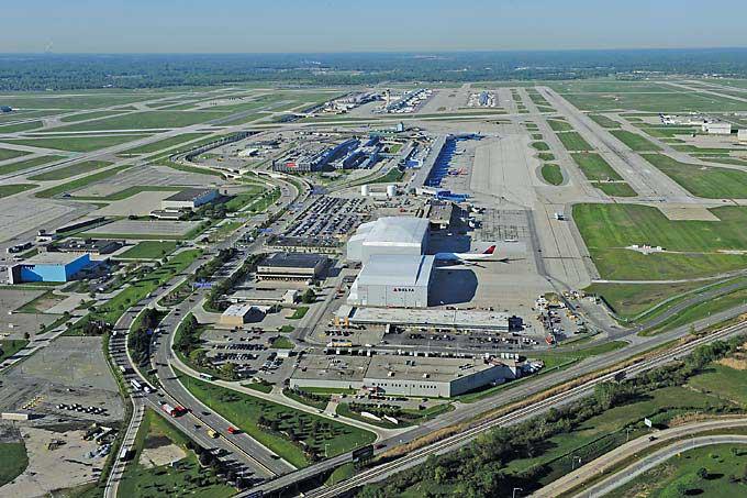 Airport Cities Southeast Michigan Builds An Aerotropolis Site - Michigan airports
