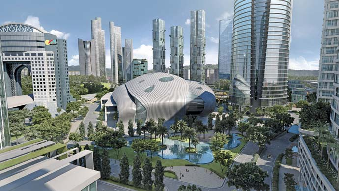 KL Metropolis, now under construction, will redefine Kuala Lumpur's role as a meeting, exhibition and convention destination.