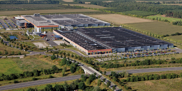 First Solar Manufacturing Site, Frankfurt (Oder), Germany