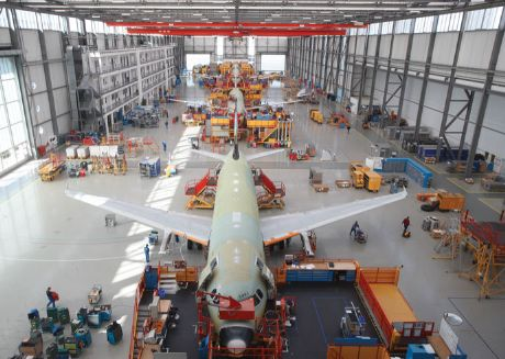 Airbus  predicts the need for 4,600 new narrowbody passenger aircraft in the U.S. in the next 20 years. Its new plant in Alabama, like the one shown here, will produce A320s.<br /><br />
