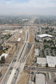 I-215 Construction Thru San Bernardino