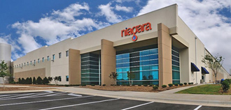 Missouri City in Fort Bend County is the location of Niagara Bottling LLC's next plant, which will resemble the rendering here.