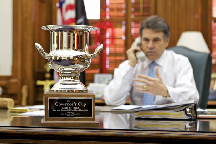 The 2012 Governor's Cup: How To Win, Texas Style | Site