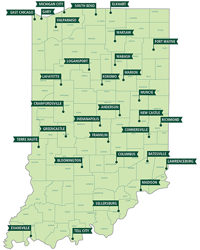 Ivy Tech Bloomington Campus Map.Indiana Central Casting Site Selection Online