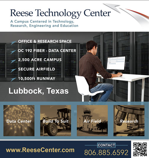 Reese Tech Center Ad