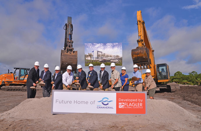 Titus Village Logistics Center Groundbreaking