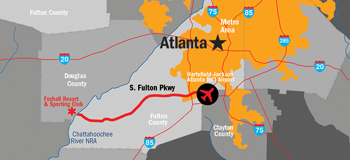 South Fulton Parkway Map