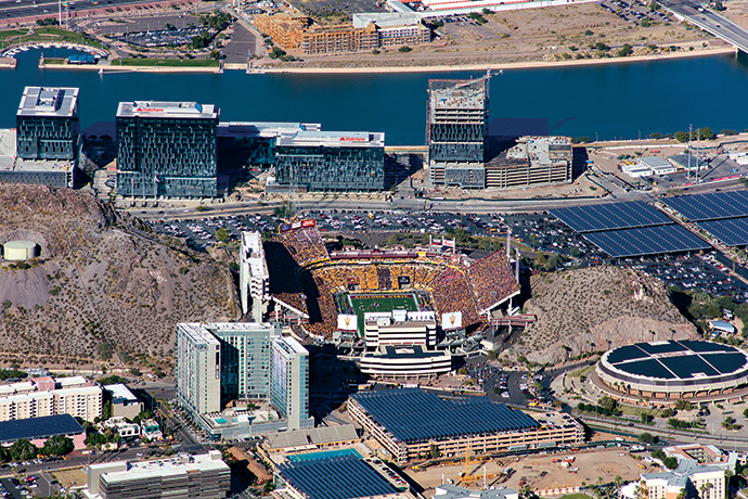 ASU Sun Devil Stadium State Farm