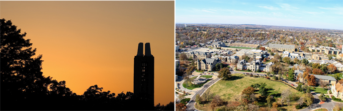 University of Kansas and Kansas State Univercity