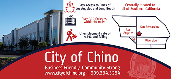 City of Chino Ad