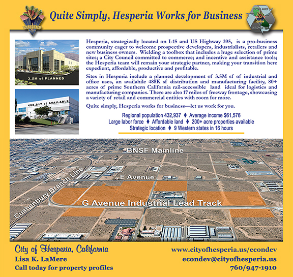 City of Hesperia Ad