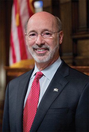 Tom Wolf, Governor of Pennsylvania