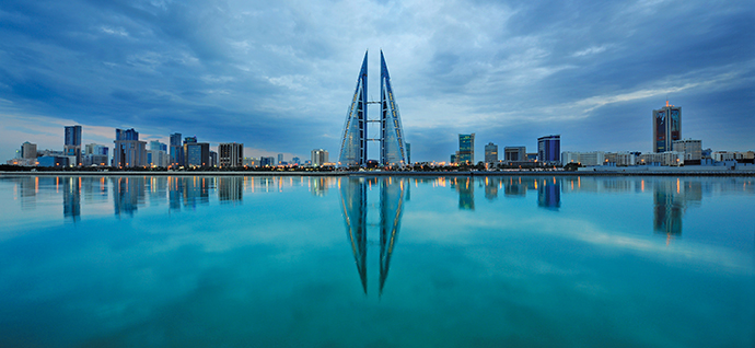 Manama, the lively and cosmopolitan Bahraini capital, is one of the top financial centers of the Middle East and North Africa.