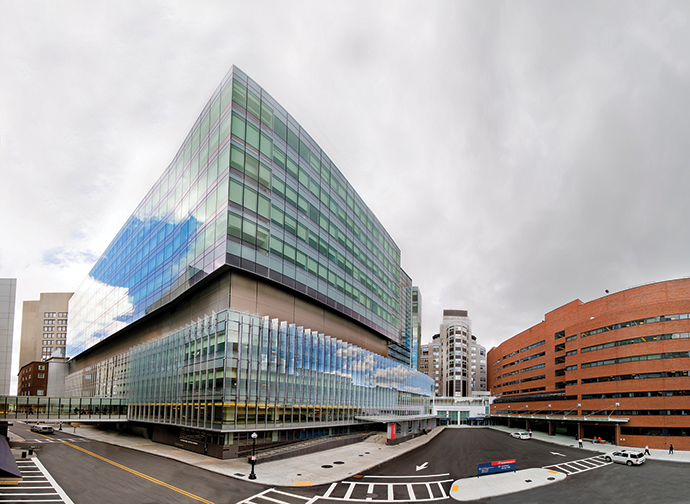 Boston's Massachusetts General Hospital anchors the city's Eds & Meds sector along with Harvard and MIT.