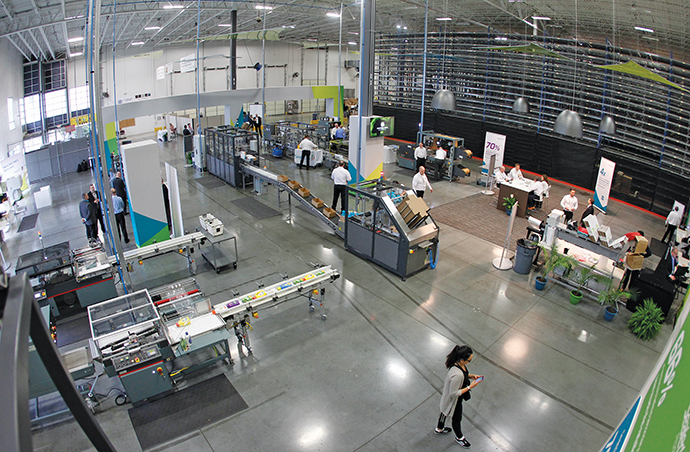 UPS and Sealed Air Corp. in May announced the opening of a Packaging Innovation Center at the UPS Supply Chain Solutions campus near the UPS Worldport facility in Louisville to help solve the packaging and shipping challenges of e-commerce retailers, among others.<br />Photo courtesy of UPS