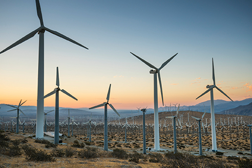 Renewable energy development has bloomed in the California desert. Since 2009, BLM has approved 57 renewable energy projects (34 solar, 11 wind, and 12 geothermal) with potential for over 15,000 MW. There are currently over 17,000 MW of renewable energy projects permitted on public land, including 2,379 MW of renewable energy projects approved prior to 2009.