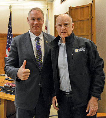 Zinke Gov Brown
