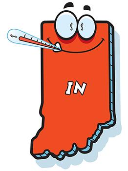 Taking Indiana's Economic Temperature