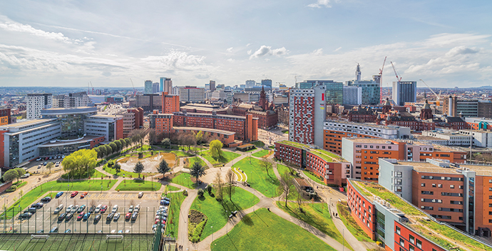 The youngest city in Europe, Birmingham's population is projected to rise by 171,000 to 1.3 million over the next two decades.