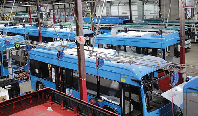 Electric Bus Production