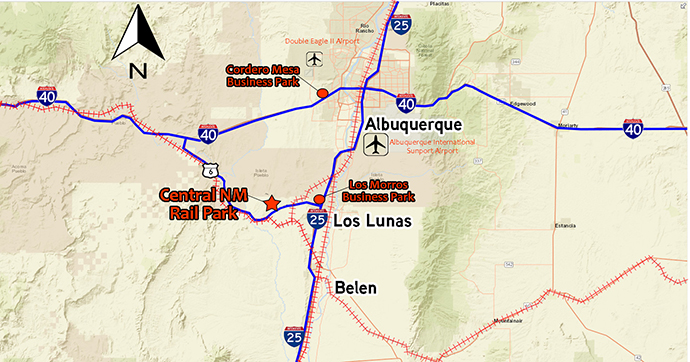 Central New Mexico Rail Park: Oasis of Opportunity   Site