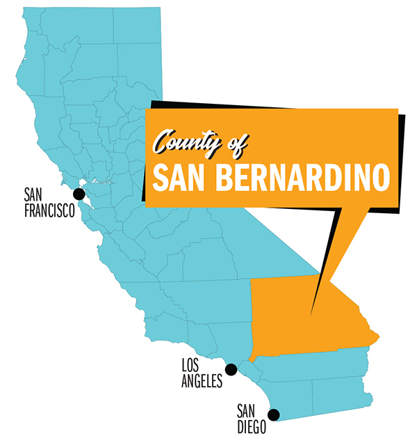 San Bernardino County, California: When the World Takes