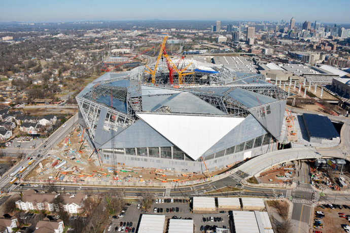 Falcons' Mercedes-Benz Stadium