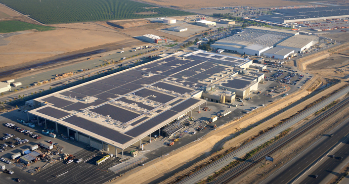 Ready To Roll A Massive Plant Opens In California To