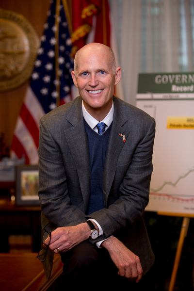 Rick Scott Portrait