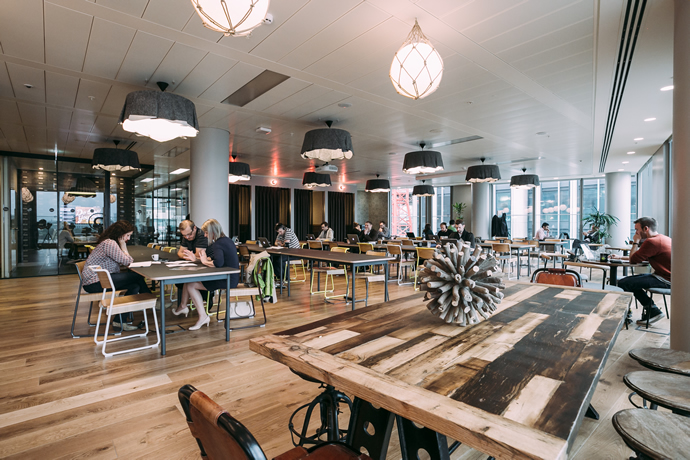 WeWork London's South Bank