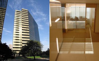 The Schlumberger Solutions Center in Houston