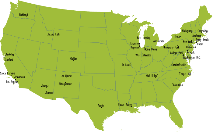 US Department of Energy Energy Frontier Research Centers The