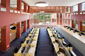 The Thornburg campus trading floor