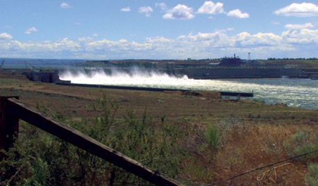 Heavy flows along the Columbia River disrupted the integration of hydro and wind power in the region last spring.