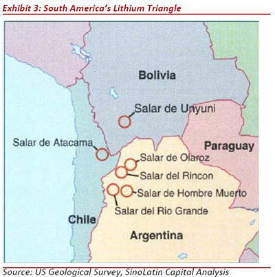 Natural Resources Lithium The Mineral Of The Future Site - Argentina map natural resources